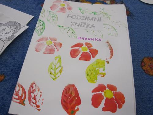 Podzimní knížka – třída Sluníčka 25.11.2020